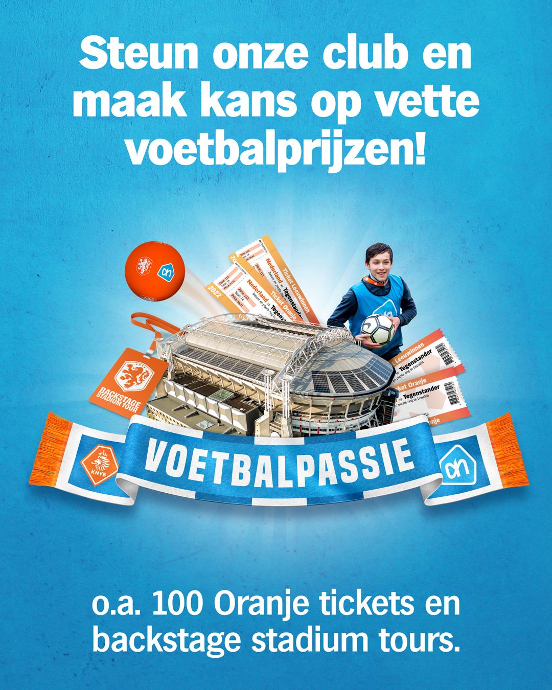 Help ons en spaar mee met Voetbalpassie!