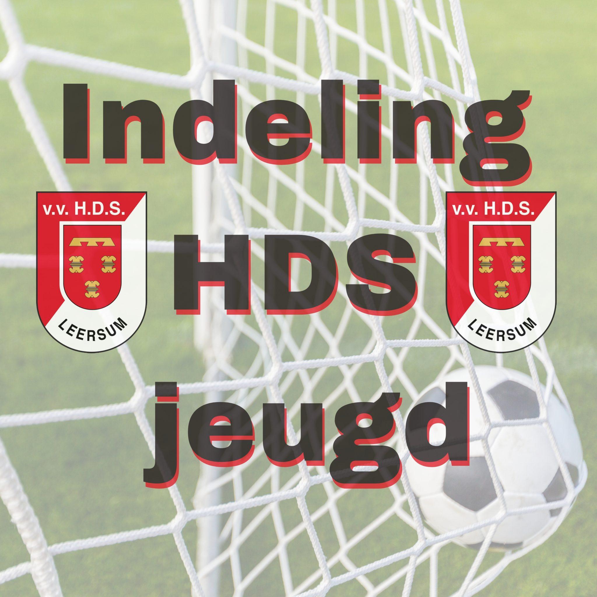 Indeling HDS Jeugd