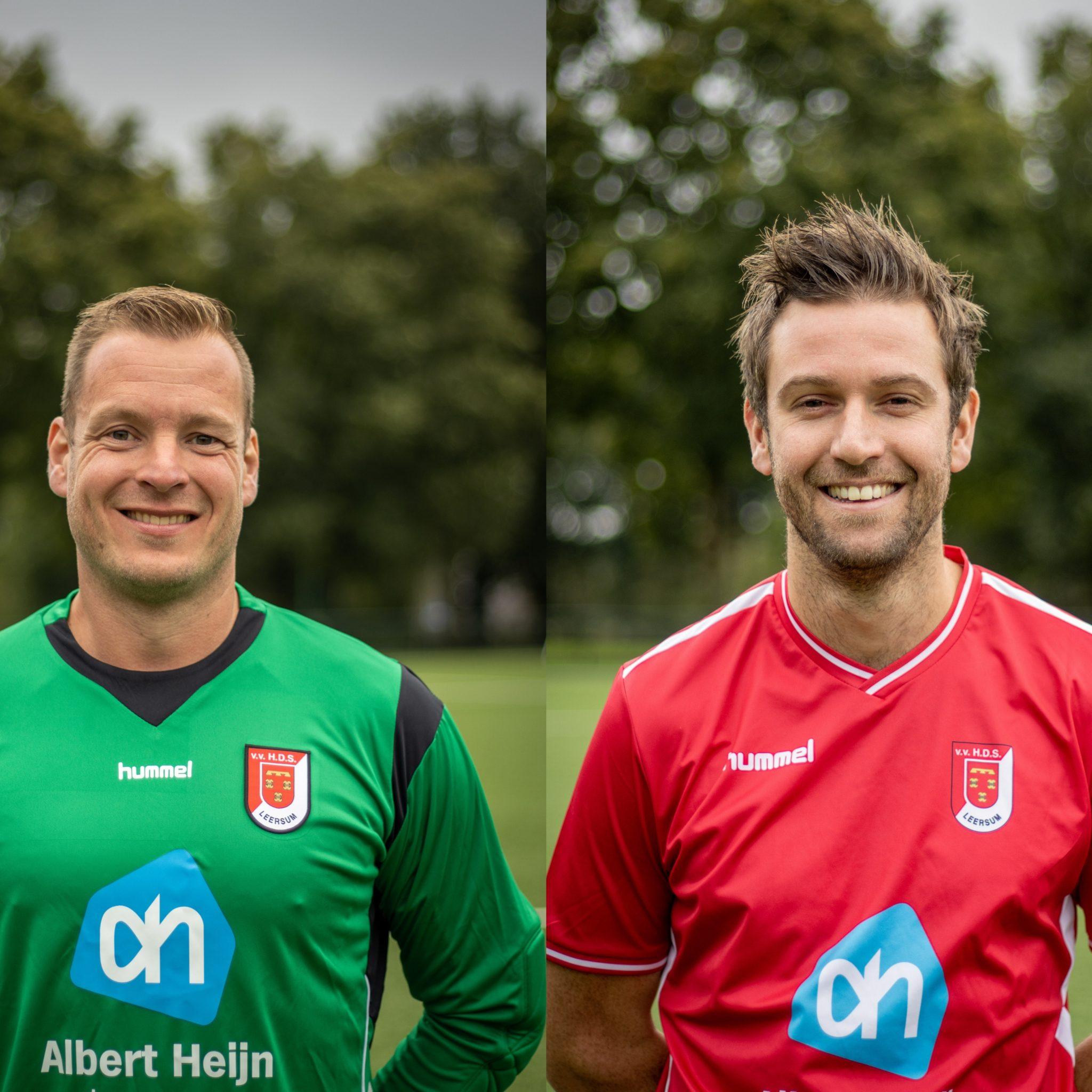 HDS-selectie neemt afscheid van Mark van Woudenberg en Bjorn van Rees