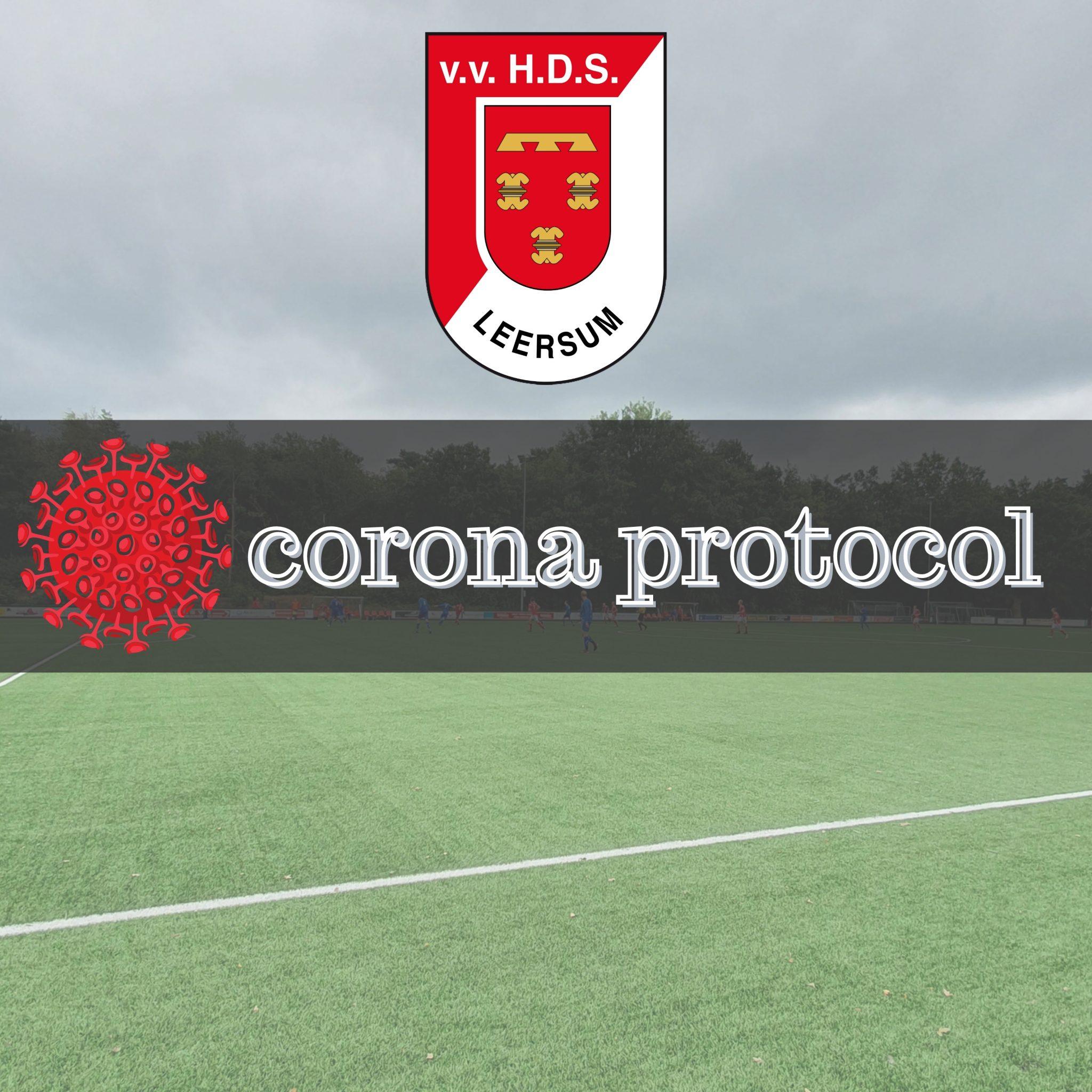 Corona protocol HDS (update 22-06-2020)