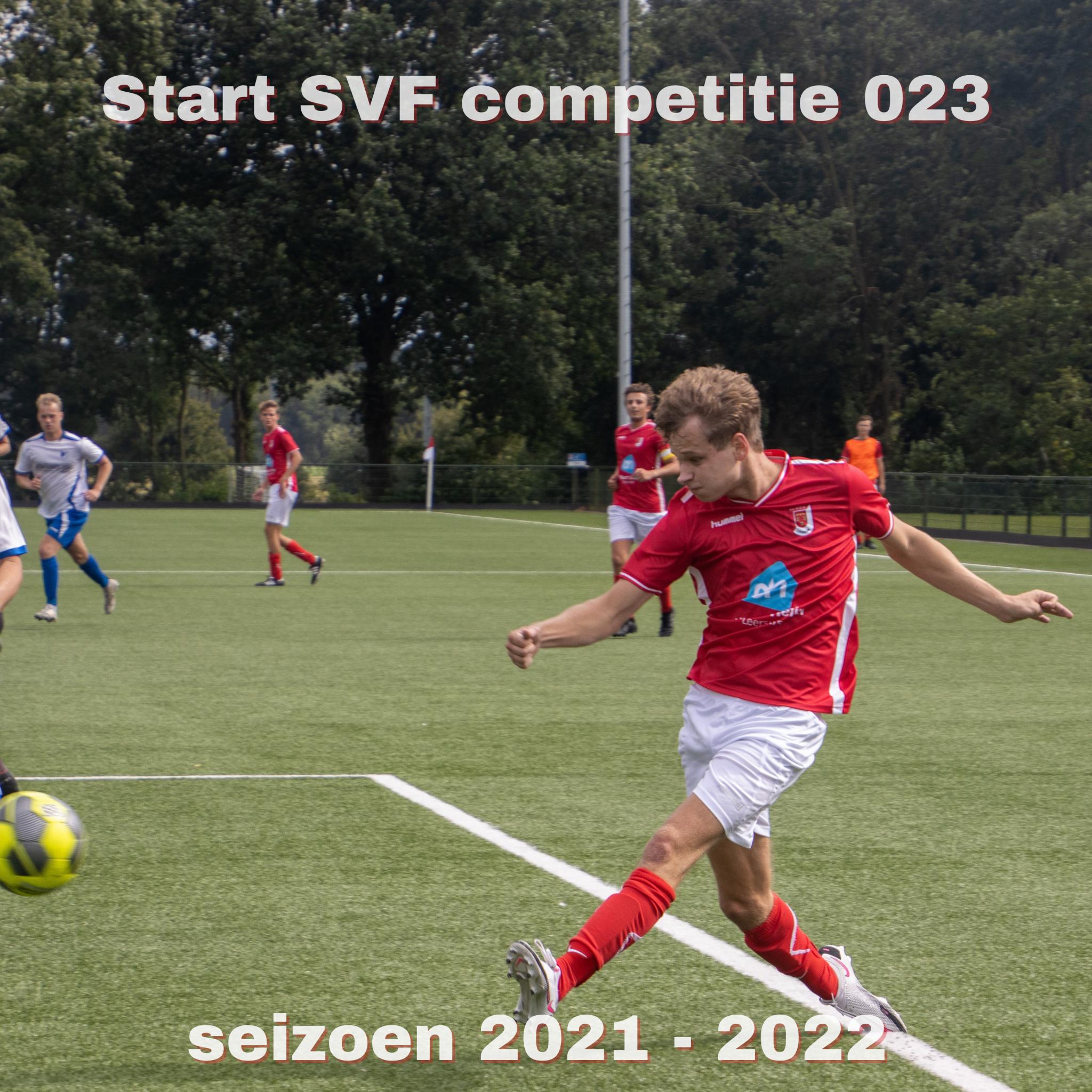 Start SVF competitie O23 seizoen 2021 - 2022